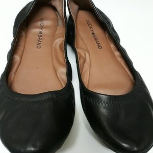 Used Lucky Brand size 7.5 black